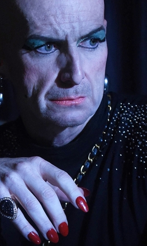 Denis O'Hare with Michael Michael Kors Embellished Sweater in American Horror Story