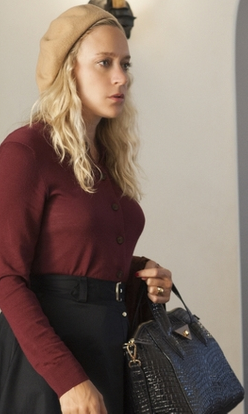 Chloë Sevigny with Prada Medium Saffiano Promenade Bag in American Horror Story
