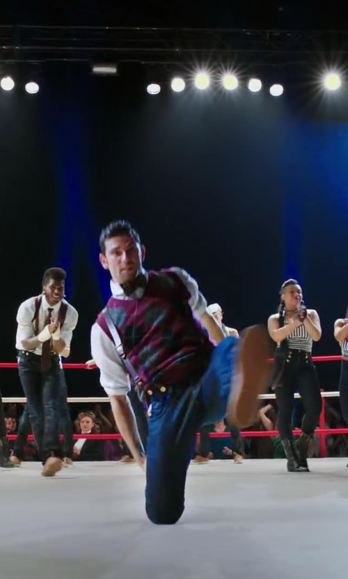 David Shreibman with Status Men's Suspenders in Step Up: All In