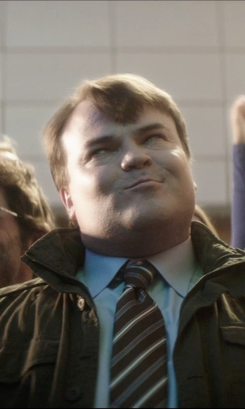 Jack Black with Michael Kors 'Oxford' Field Jacket in The D Train