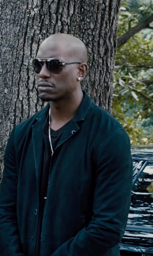Tyrese Gibson with Acne Studios Drifter Blazer in Furious 7