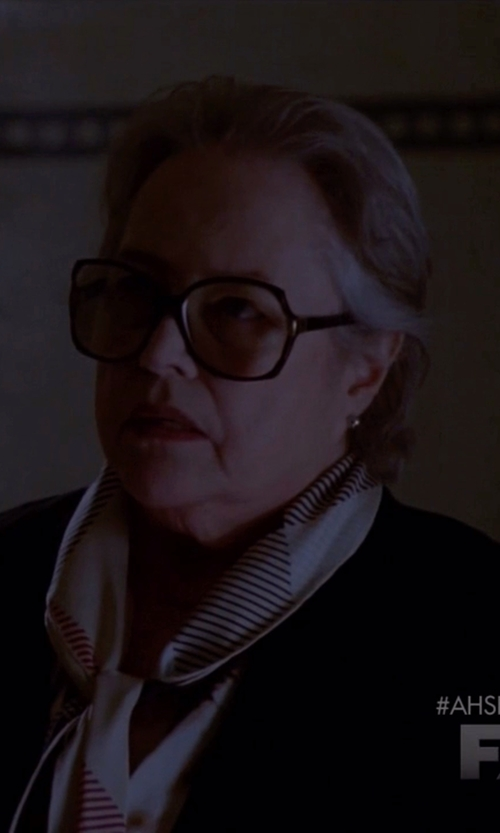 Kathy Bates with Kam Dhillon Jackie Black Eyeglass in American Horror Story