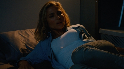 Elsa Pataky with James Perse Daily Tank Top in The Fate of the Furious