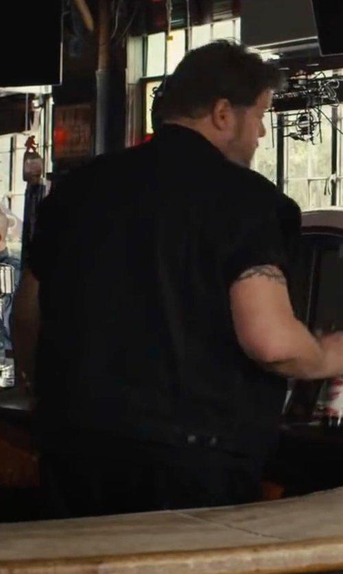 Paul Romero with Hurley Ace Oxford Short Sleeve Shirt in Begin Again