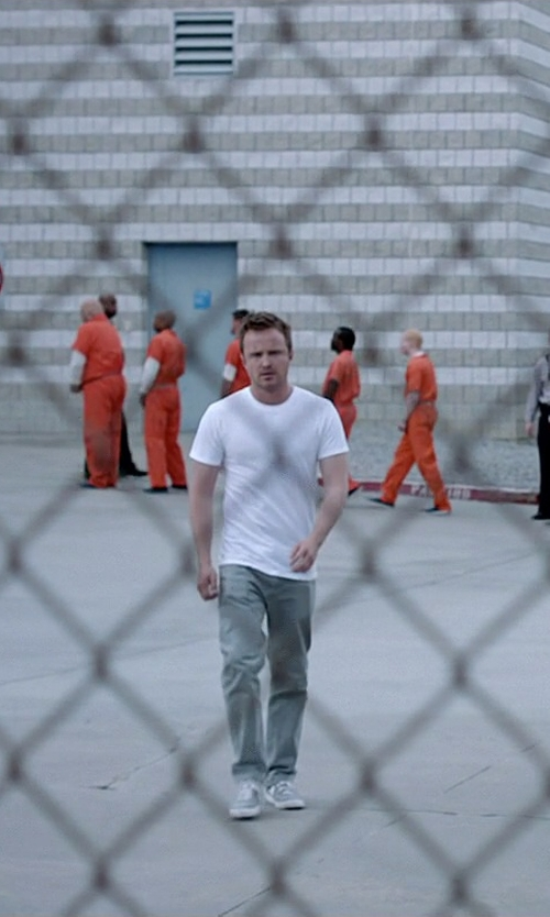 Aaron Paul with Levi's 550 Relaxed Fit Jeans in Need for Speed