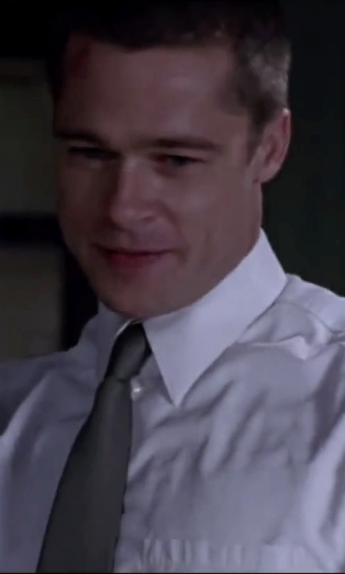 Brad Pitt with Michael Kors Solid Silk Tie in Mr. & Mrs. Smith