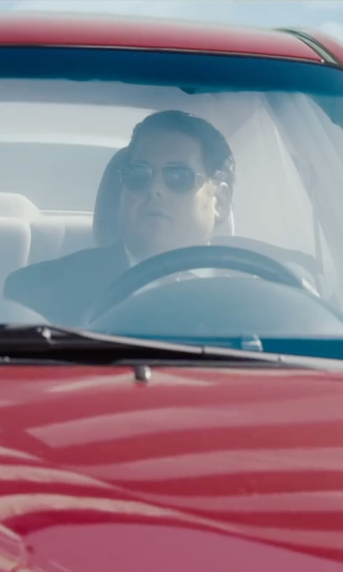 Jonah Hill with Police Polarized Aviator Sunglasses in War Dogs
