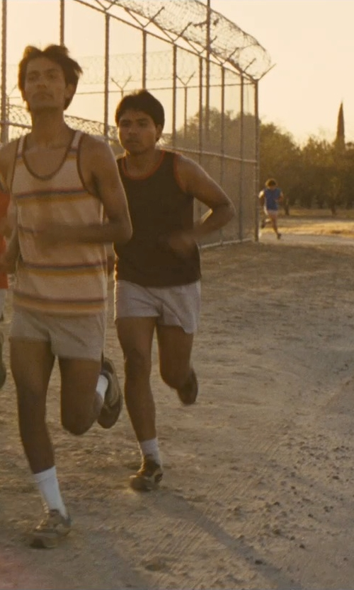 Rafael Martinez with Alternative Double Ringer Tank Top in McFarland, USA