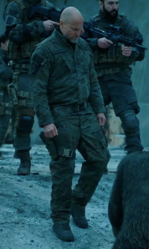Woody Harrelson with Tru-Spec Response Pants in War for the Planet of the Apes