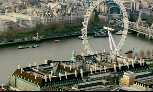 Unknown Actor with County Hall London, United Kingdom in Survivor