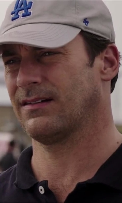 Jon Hamm with Brand 47 Los Angeles Dodgers Franchise Cap in Million Dollar Arm