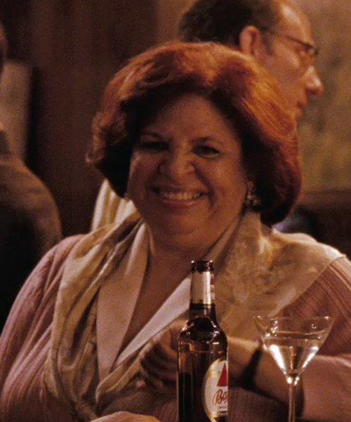 Patricia Belcher with Chelsey 'Pretty Paisley' Silk Muffler in (500) Days of Summer