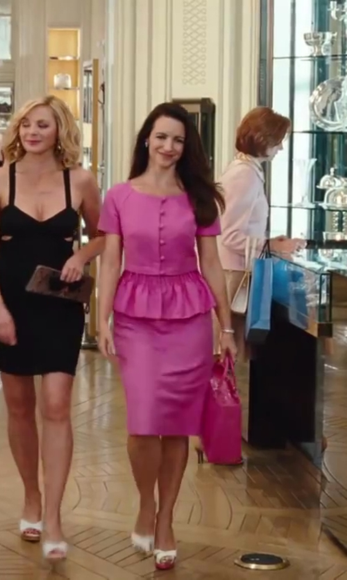 Kristin Davis with Dior Blazer Jacket in Sex and the City 2