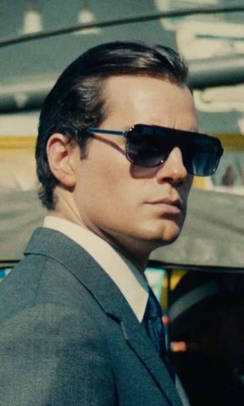 Henry Cavill with Thierry Lasry Bowery 1001 Sunglasses in The Man from U.N.C.L.E.