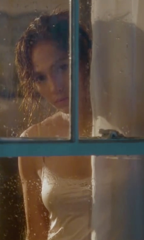 Jennifer Lopez with Hanro Lace-Trim Cami in The Boy Next Door