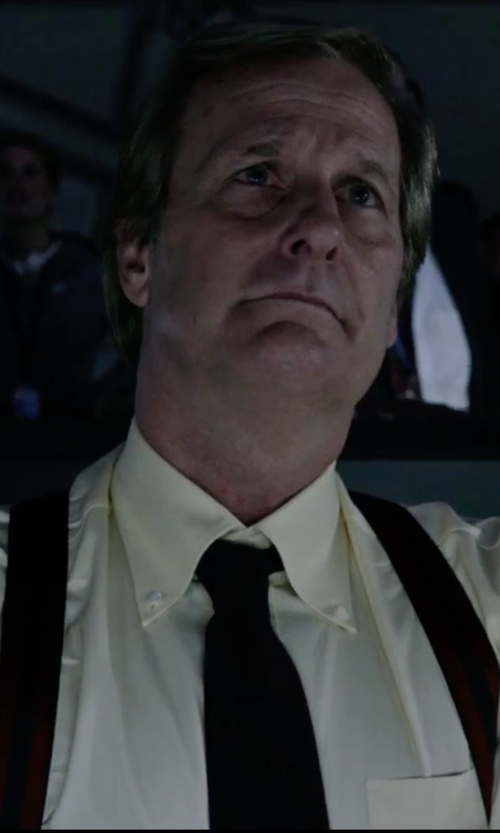 Jeff Daniels with DSquared2 Solid Tie in The Martian