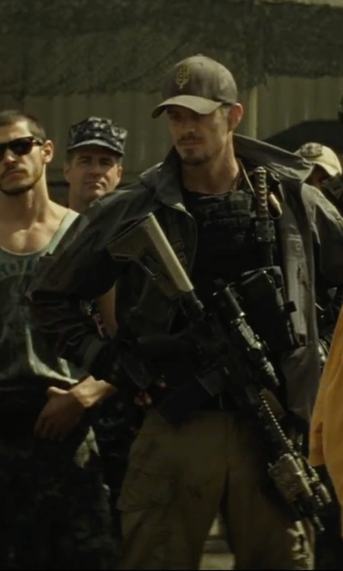 Joel Kinnaman with LA Police Gear Operator Tactical Pants in Suicide Squad