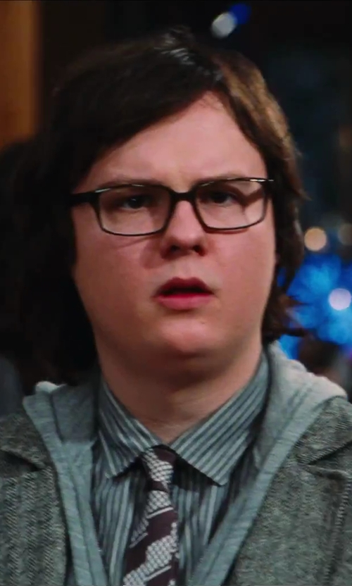 Clark Duke with Alternative Zip Hoodie in Hot Tub Time Machine 2