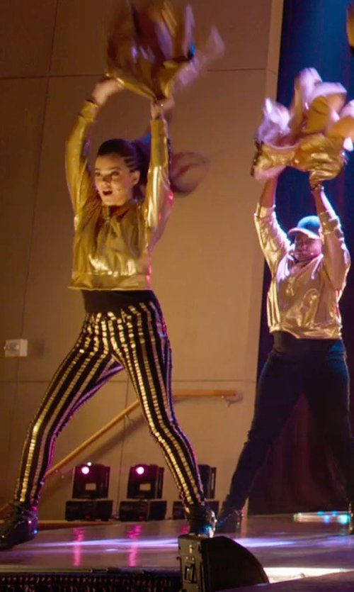 Hailee Steinfeld with Nike Force Sky High Casual Sneakers in Pitch Perfect 2
