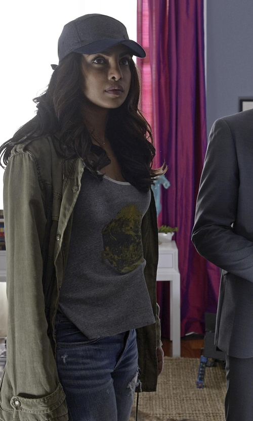 Priyanka Chopra with Talula Trooper Jacket in Quantico