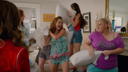 Alexis Knapp with Juicy Couture Pajama Set in Pitch Perfect 2