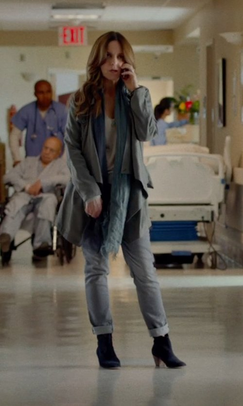 Tina Fey with M.GRIFONI DENIM Pants in This Is Where I Leave You