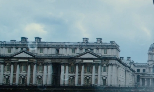 Unknown Actor with Old Royal Naval College London, England in Thor: The Dark World