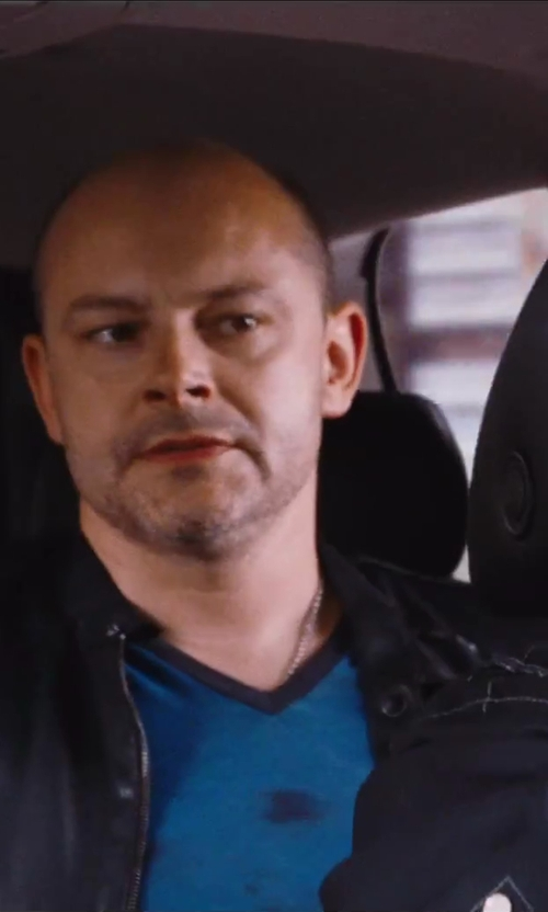 Rob Corddry with Diesel 'l-thermal' Leather Jacket in Hot Tub Time Machine 2