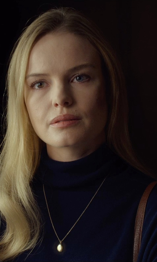 Kate Bosworth with St. John Turtleneck Jersey Sweater in Before I Wake