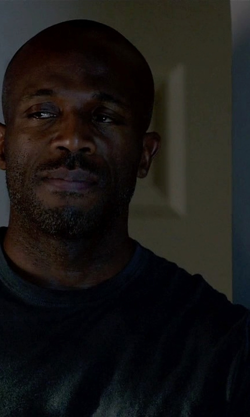Billy Brown  with Michael Stars Basic Cotton Crewneck T-Shirt in How To Get Away With Murder