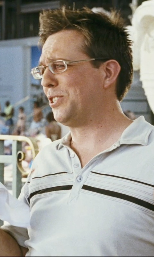 Ed Helms with Nordstrom Cotton Handkerchief in The Hangover