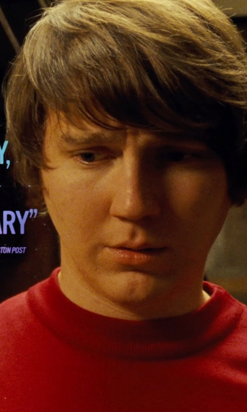 Paul Dano with Maison Margiela Classic T-Shirt in Love & Mercy