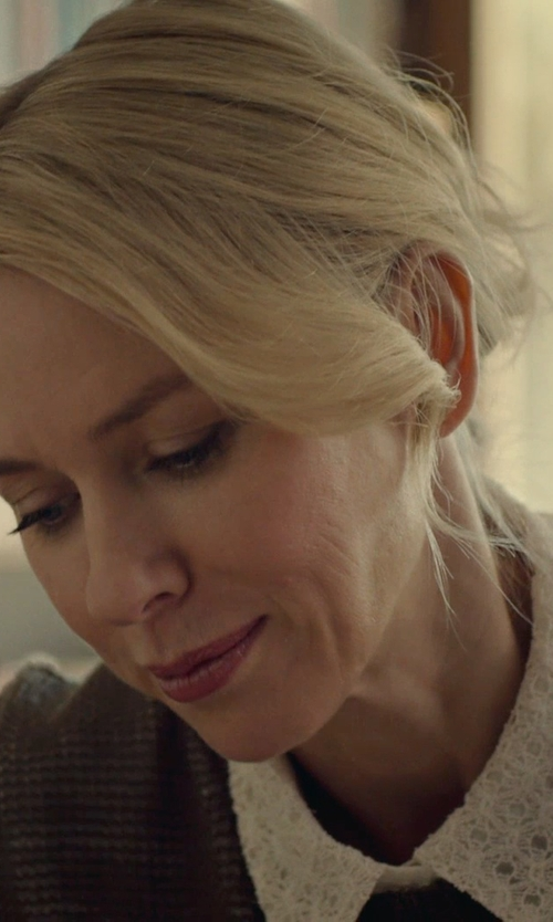 Naomi Watts with George J. Love Lace Shirts in While We're Young