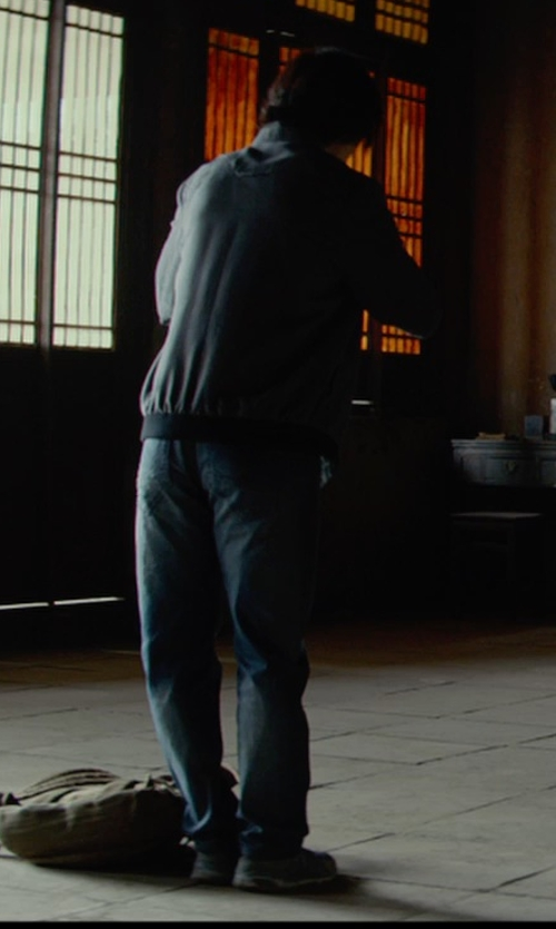 Tiger Hu Chen with Levi's Men's 514 Straight-Fit Jeans in Man of Tai Chi