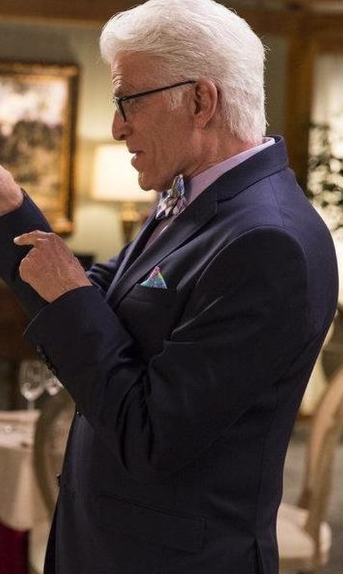 Ted Danson with Hugo Boss Boss  Basic Two-Button Suit in The Good Place