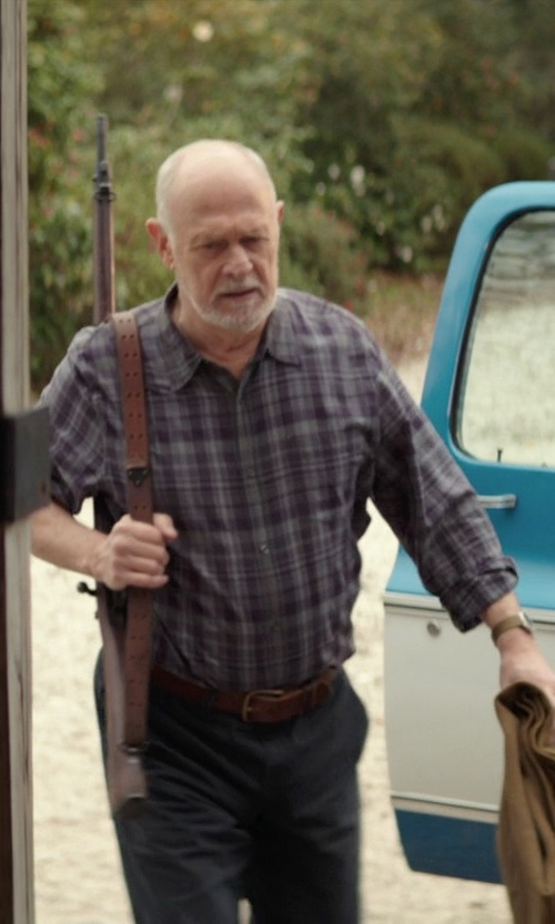 Gerald McRaney with Joe's Jeans Men's Reversible Solid/Plaid Button-Front Shirt in The Best of Me