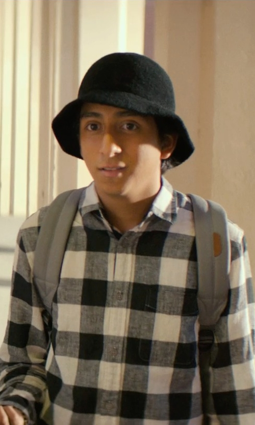 Tony Revolori with Lacoste Cotton Pique Bucket Hat in Dope