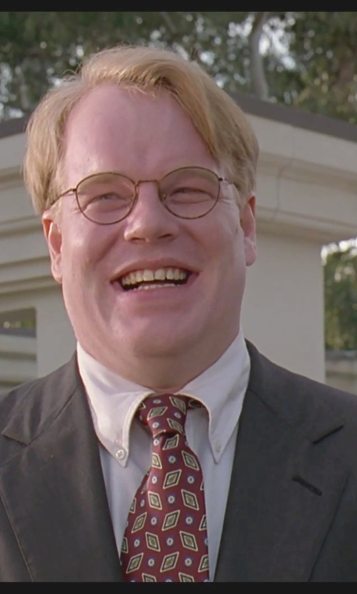 Philip Seymour Hoffman with Selected Homme Suit Blazer in The Big Lebowski