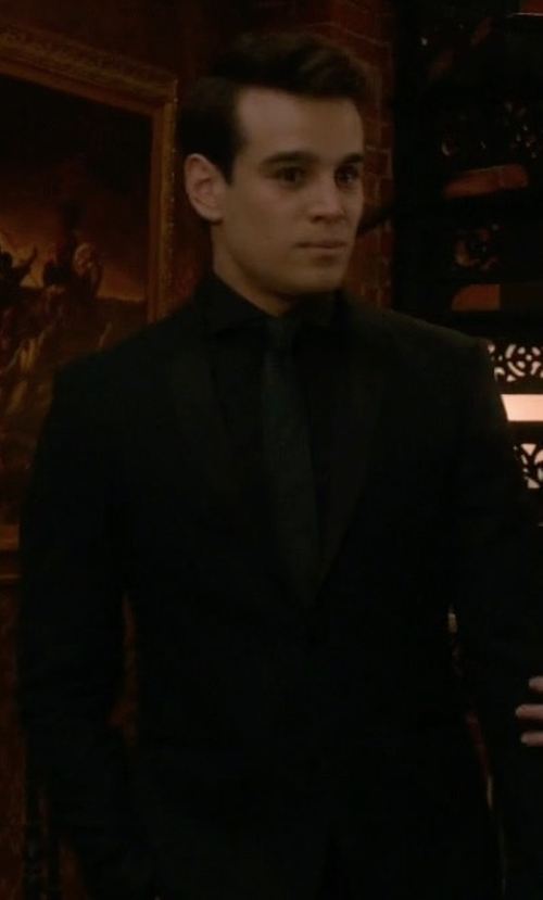 Alberto Rosende with Daniele Alessandrini Sequined Lapels Tuxedo Jacket in Shadowhunters
