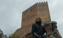 No Actor with Castle of Zafra (Depicted as Tower of Joy) Guadalajara, Spain in Game of Thrones