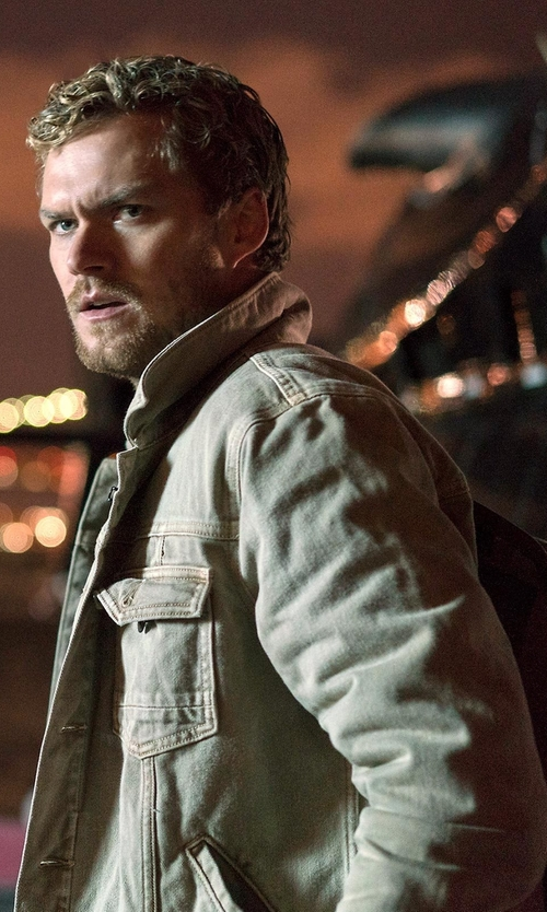 Finn Jones with Levi's Unlined Field Jacket in Marvel's The Defenders