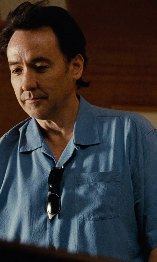 John Cusack with Banana Republic Tailored Slim-Fit Pique Short-Sleeve Shirt in Love & Mercy