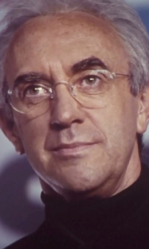Jonathan Pryce with Ralph Lauren Classic Vintage Eyeglasses in Tomorrow Never Dies