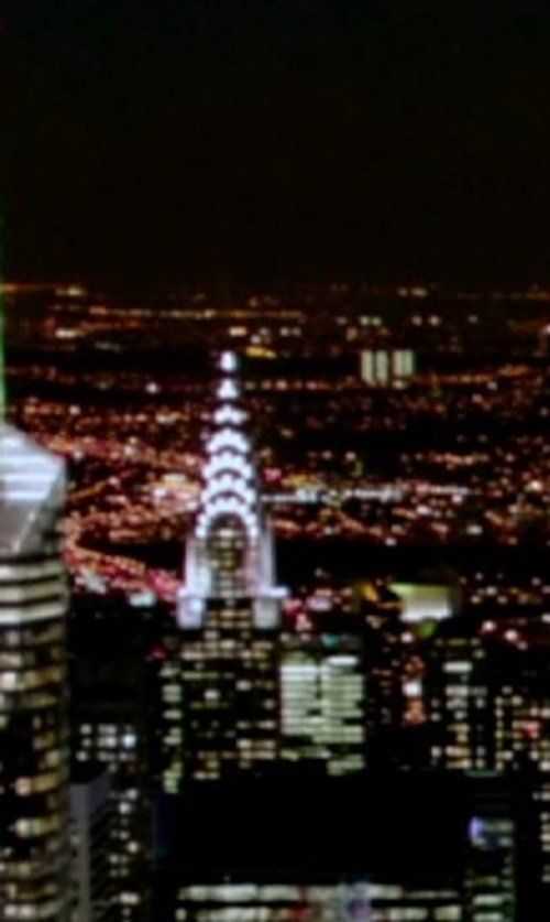 Unknown Actor with Chrysler Building New York City, New York in Top Five