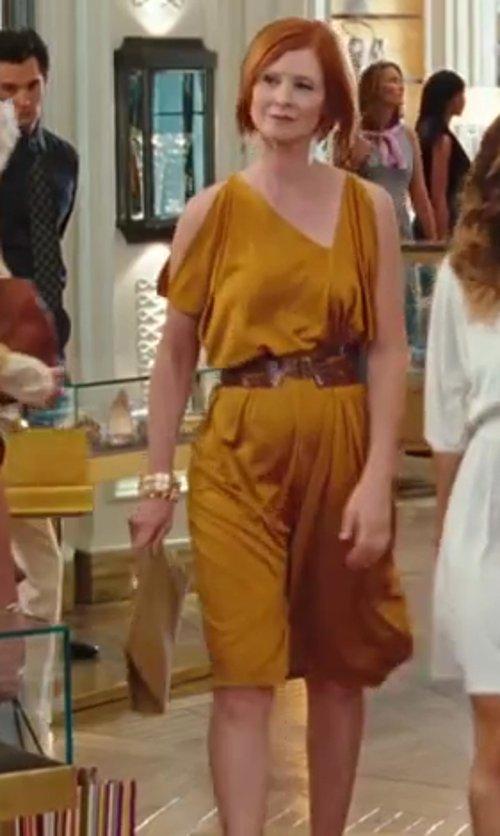 Cynthia Nixon with Kara Ross Amo Lizard Clutch Bag in Sex and the City 2