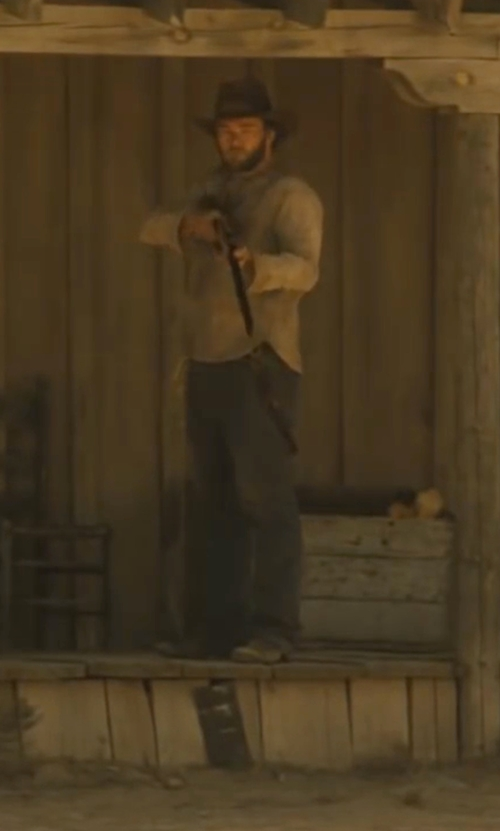 Joel Edgerton with Petrol Rhodes Regular Fit Bootcut Jeans in Jane Got A Gun