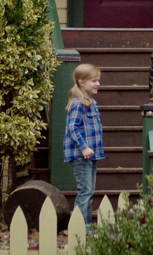 Gabrielle Cerys Haslett with Siviglia Denim Pants in If I Stay