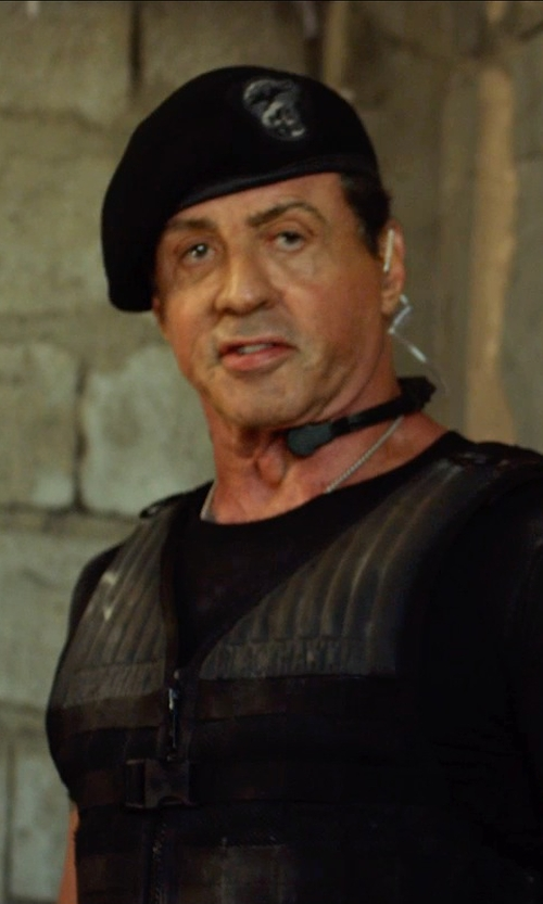 Sylvester Stallone with Rothco Military Wool Berets in The Expendables 3