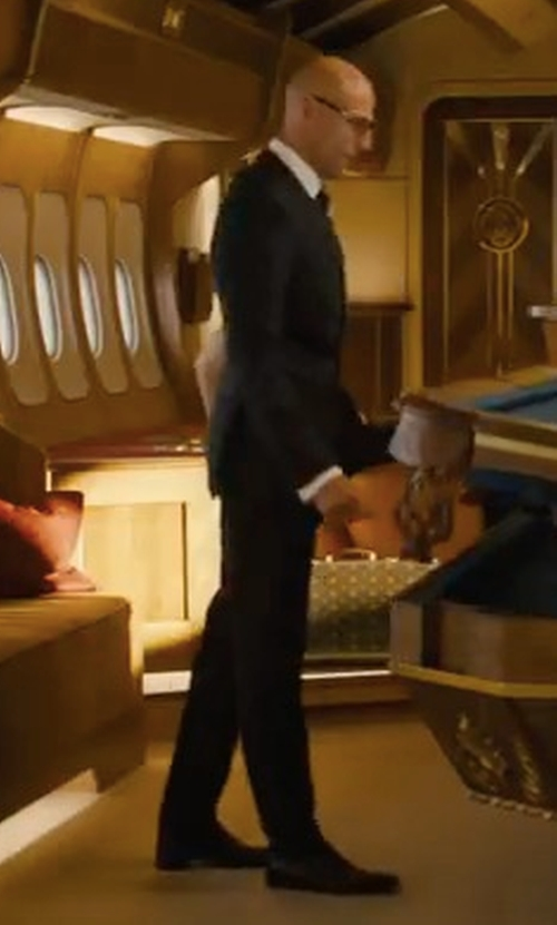 Mark Strong with Church's Consul Leather Oxford Shoes in Kingsman: The Golden Circle