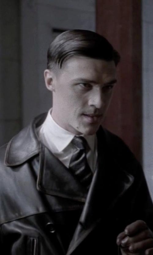 Finn Wittrock with Roda Stripe Tie in American Horror Story
